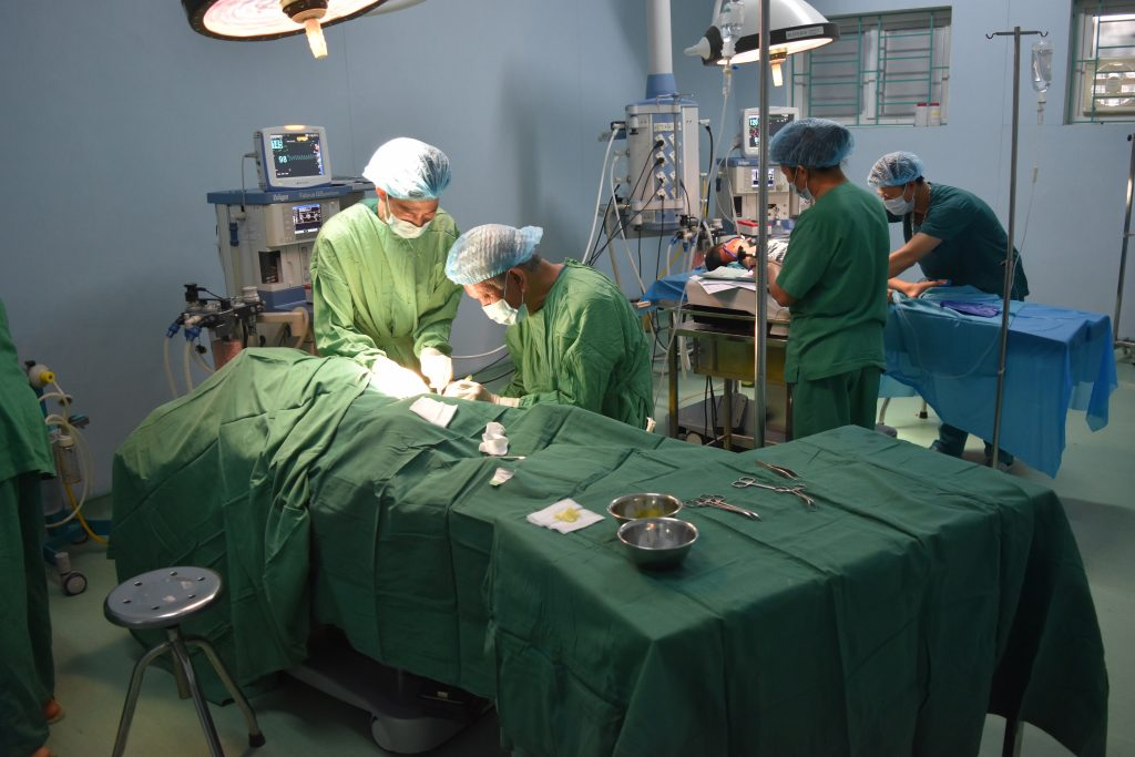 operation week child surgery Vietnam