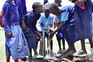 Clean drinking water at the schools
