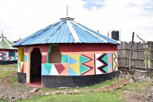 Maasai huisje