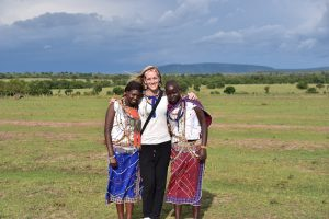 In front of Maasai Mara