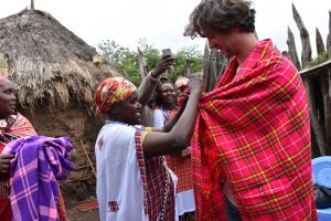 A present from the Maasai